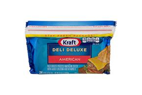 Kraft Deli Deluxe American Cheese Slices 16 Oz Package (24 Slices)