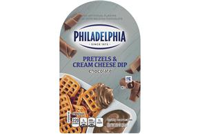 Philadelphia Chocolate Cream Cheese Dip & Pretzels 2.5Oz