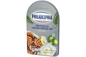 Philadelphia Jalapeno Cream Cheese Dip & Pretzels 2.5Oz