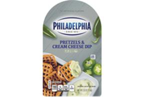 Philadelphia Jalapeno Cream Cheese Dip & Pretzels 2.5Oz