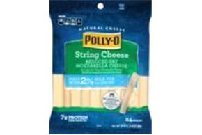 Polly-O 2% Milk Reduced Fat Mozzarella String Cheese 20 Oz Bag (24 Count)