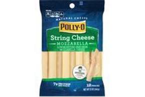 Polly-O Mozzarella String Cheese 12 Oz Bag (12 Count)