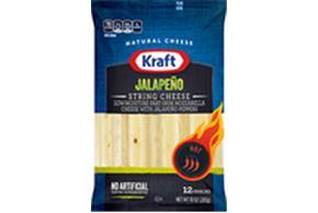 Kraft Jalapeno String Cheese 10 Oz (12 Count)