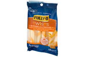 Polly-O Mozzarella & Cheddar Cheese 9 Oz Bag (12 Count)