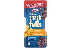 Kraft Trios Snackfulls  2.25 Oz Pack
