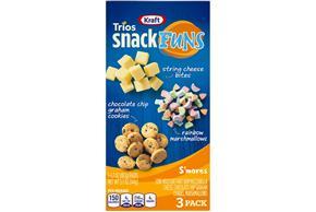 Kraft Trios Snackfuns S'mores 5.1 Oz Carton 3-Count