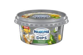 Philadelphia Dips Jalapeño Cheddar, 10Oz Tub