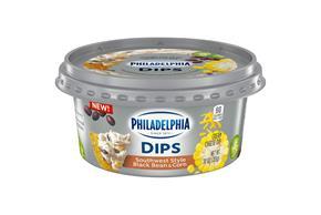 Philadelphia Dips Southwest Style Black Bean & Corn, 10Oz Tub