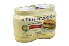 Grey Poupon Dijon Mustard 2-16 oz. Jars