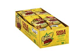 Corn Nuts Chile Picante con Limon Crunchy Corn Kernels 18-1.7 oz. Bags
