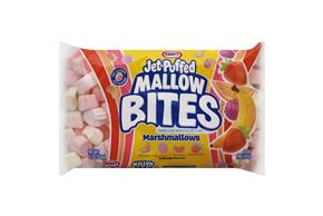Jet-Puffed Mallow Bites Fruit Flavored Marshmallows 8Oz Bag
