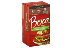 Boca Meat Alternative-Burgers