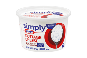 Simply Kraft Cottage Cheese