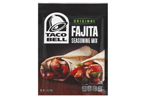 Taco Bell Home Originals Fajita Seasoning