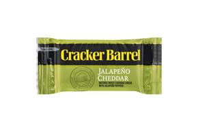 Cracker Barrel Jalapeno Cheddar Cheese Snacks 8 Ct Bag