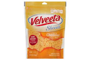 Velveeta Processed Cheese-Shredded