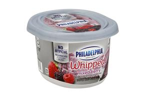 Philadelphia Mixed Berry Cream Cheese-Whipped 8 Oz Tub
