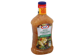 KRAFT 24 FO DRESSING-LIQUID  ZESTY ITALIAN 6 BOTTLE EACH