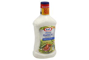 KRAFT Ranch Dressing 24 oz Bottle