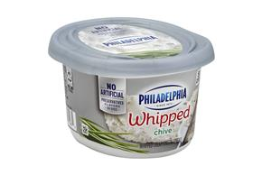 Philadelphia Chives Cream Cheese-Whipped 8 Oz Tub