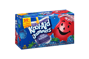 Kool-Aid Jammers Blue Raspberry 10-6 fl oz. Pouches