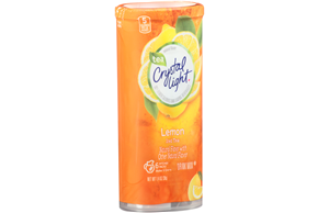 CRYSTAL LIGHT MULTISERVE Iced Tea Sugar Free 1.4 oz. Packet