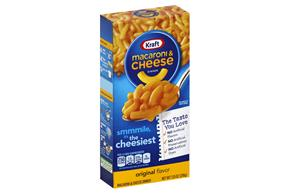 KRAFT 21.75 OZ MACARONI AND CHEESE DINNERS - DRY 1 SHRINK WRAPPED EACH