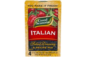 Good Seasons Italian All Natural  Salad Dressing & Recipe Mix 2.8 Oz Box
