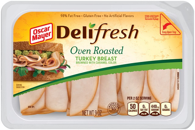 Oscar Mayer Deli Fresh Oven Roasted Turkey Breast 9Oz