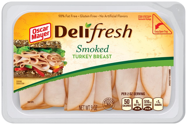Oscar Mayer Deli Fresh Smoked Turkey Breast 9Oz