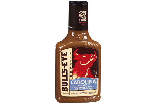 Bull's-Eye Carolina Style Barbecue Sauce 17.5 oz. Bottle