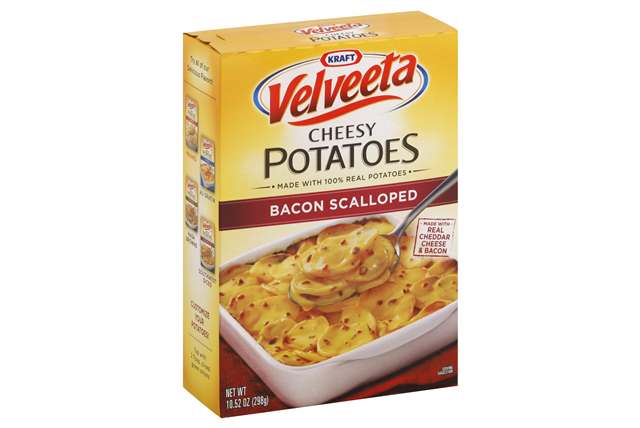 KRAFT DINNERS Bacon Scalloped Velveeta Cheesy Potatoes  10.52 OZ BOX