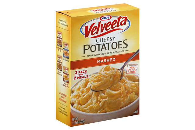 Kraft Dinners Cheesy Au Gratin Potatoes Velveeta 10.23 Oz Box