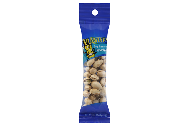 Planters Dry Roasted Pistachios 12-1.75 oz. Bags