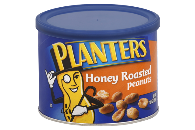 PLANTERS® Honey Roasted Peanuts 10 oz