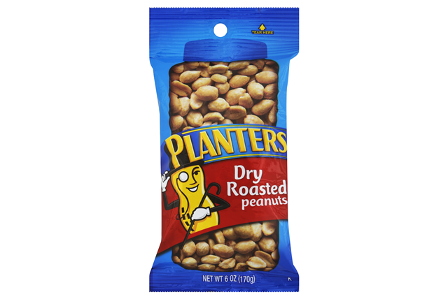 PLANTERS® Dry Roasted Peanuts 6 oz