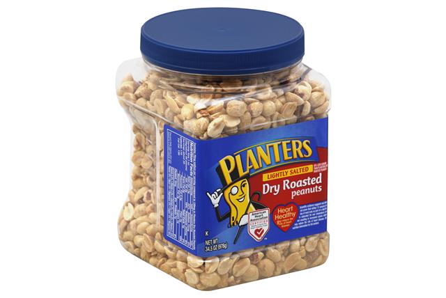 PLANTERS® Lightly Salted Dry Roasted Peanuts 34.5 oz