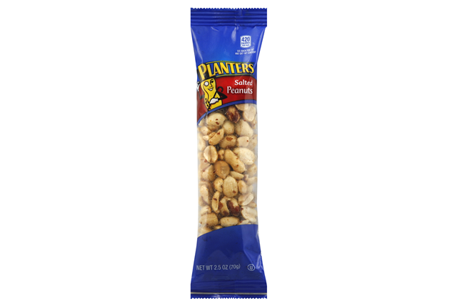 Planters Salted Peanuts 15-2.5 oz. Bags