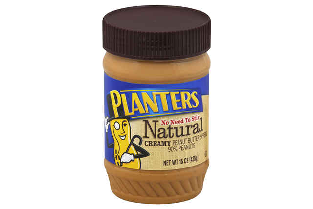 Planters Natural Creamy Peanut Butter 15 oz Jar