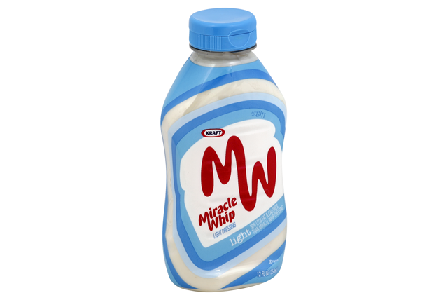 KRAFT MIRACLE WHIP Dressing Light 12 fl. oz. Bottle