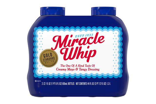 Miracle Whip 44 Oz Sandwich Spread 2 Shrink Wrapped Inner ...