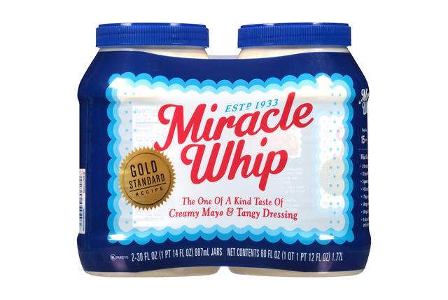 Miracle Whip 60 Oz Dressing-Spoonable 2 Multipack Inner ...