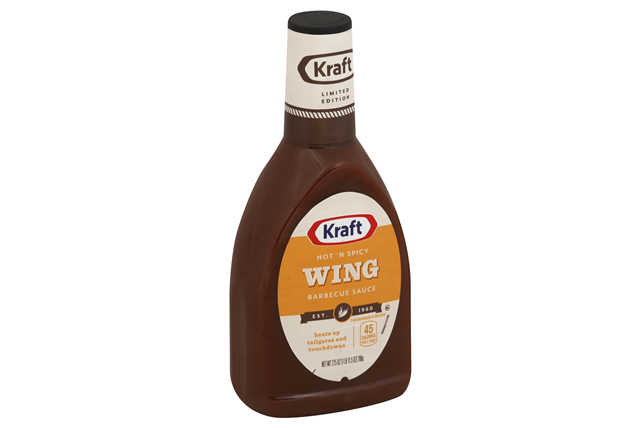 KRAFT Hot 'n Spicy Wing Barbecue Sauce