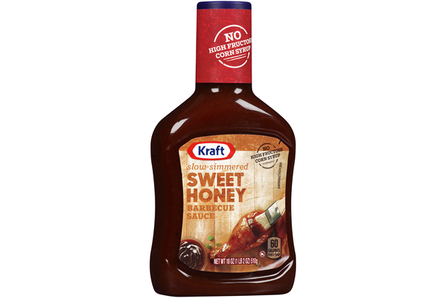 Kraft Sweet Honey Barbecue Sauce 18 oz. Bottle
