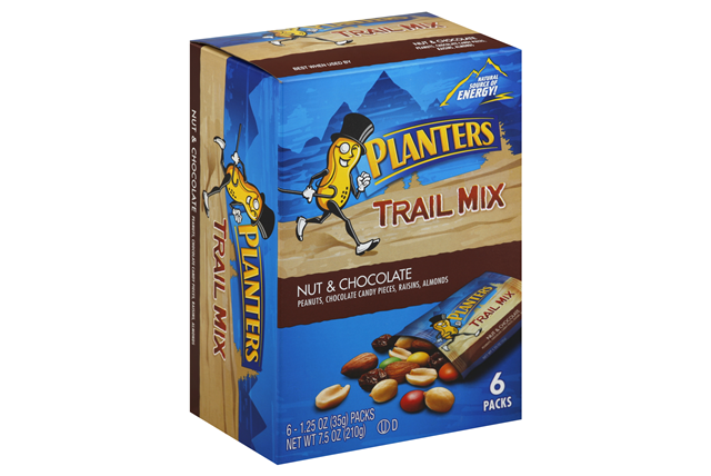 PLANTERS Nuts & Chocolate Trail Mix 6-7.5 oz Packs