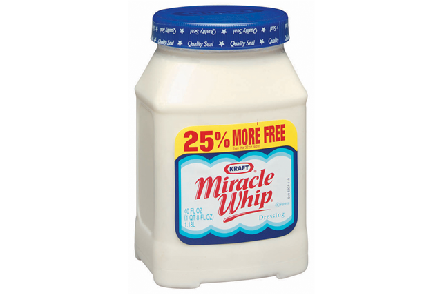 Kraft Miracle Whip  Dressing 40 Oz Plastic Jar