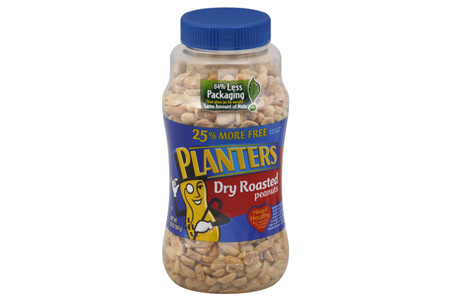 PLANTERS® Dry Roasted Peanuts 25% More Free 20 oz