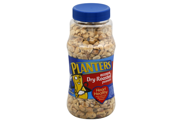 PLANTERS® Unsalted Dry Roasted Peanuts 16 oz