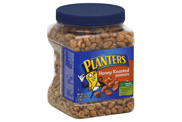 PLANTERS® Honey Roasted Peanuts 34.5 oz