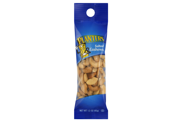 Planters Salted Cashews 18-1.5 oz. Bags